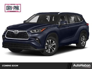 New 2021 Toyota Highlander XLE SUV for sale in Centennial