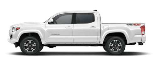 Toyota Tacoma in Super White