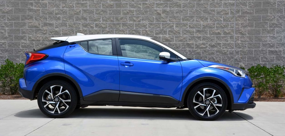 Side view of 2018 Toyota C-HR.