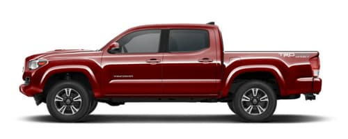 Toyota Tacoma in Barcelona Red Metallic