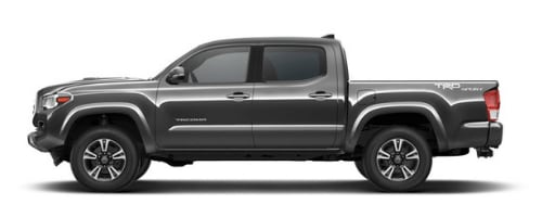 Toyota Tacoma in Magnetic Grey Metallic