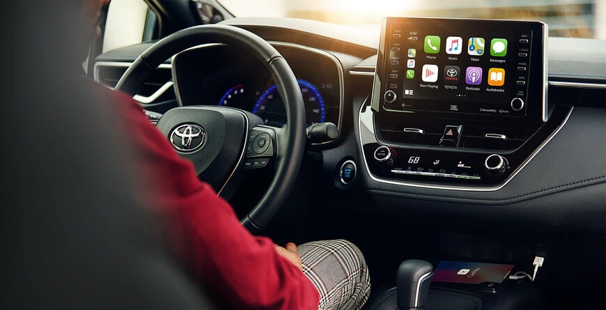 2021 Toyota Corolla Apple CarPlay