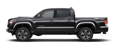 Toyota Tacoma in Midnight Black Metallic