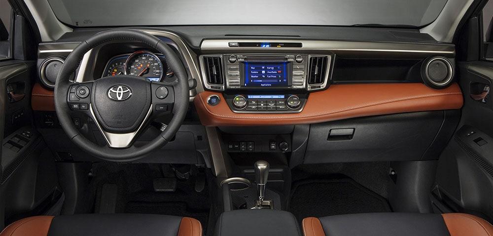 Marvelous Used 2015 Toyota RAV4 Interior ...