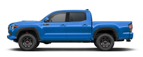 Toyota Tacoma in Voodoo Blue