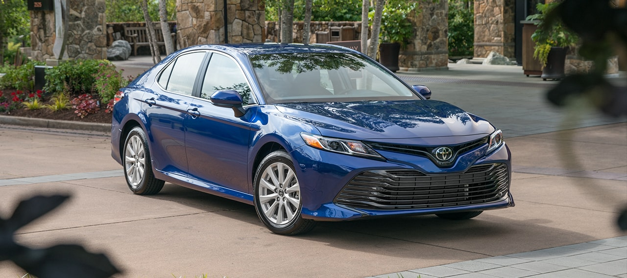 Hood, Headlights, and  Grill of 2018 Toyota Camry