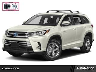 New 2019 Toyota Highlander Hybrid Hybrid XLE SUV