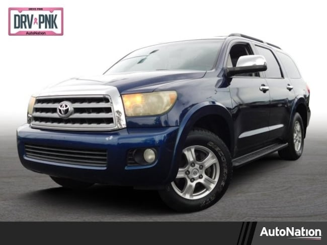 Used 2008 Toyota Sequoia For Sale Fort Myers Fl 5tdby68a98s007104