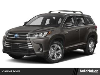 New 2019 Toyota Highlander Hybrid XLE V6 SUV for sale Philadelphia