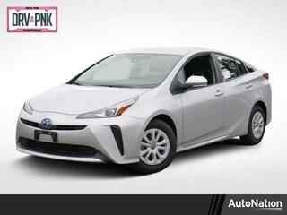 New 2020 Toyota Prius L Hatchback