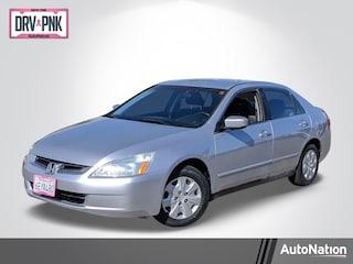 2003 Honda Accord 2.4 LX w/PZEV Sedan