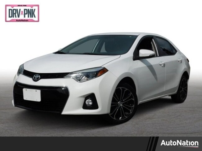 2014 Toyota Corolla S Plus Sedan