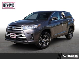 New 2019 Toyota Highlander LE V6 SUV