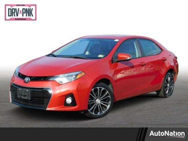 2016 Toyota Corolla S Plus Sedan