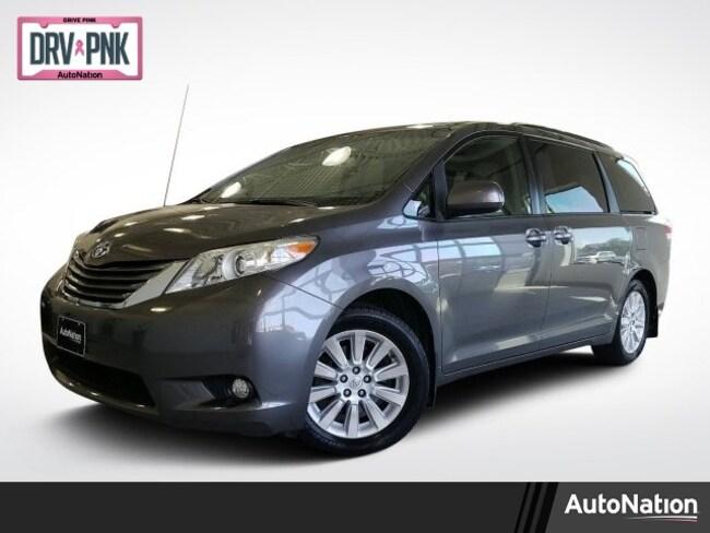 2012 Toyota Sienna XLE 7 Passenger Van