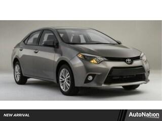 2014 Toyota Corolla LE Sedan