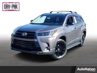 New 2019 Toyota Highlander SE V6 SUV