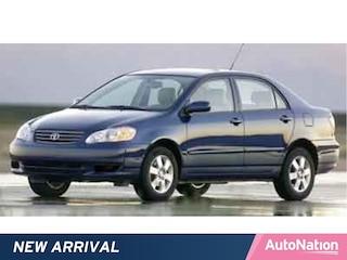 2003 Toyota Corolla LE Sedan