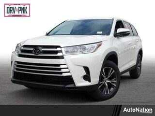 New 2019 Toyota Highlander LE I4 SUV for sale Philadelphia