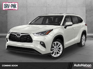 New 2021 Toyota Highlander Limited SUV for sale