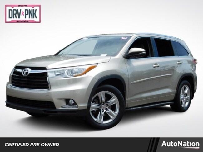 2014 Highlander For Sale >> Used 2014 Toyota Highlander For Sale At Mercedes Benz Of