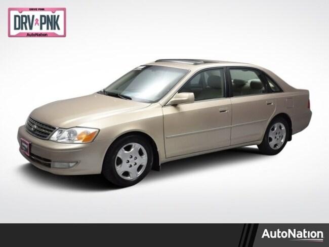 2003 Toyota Avalon XLS w/Bucket Seats Sedan