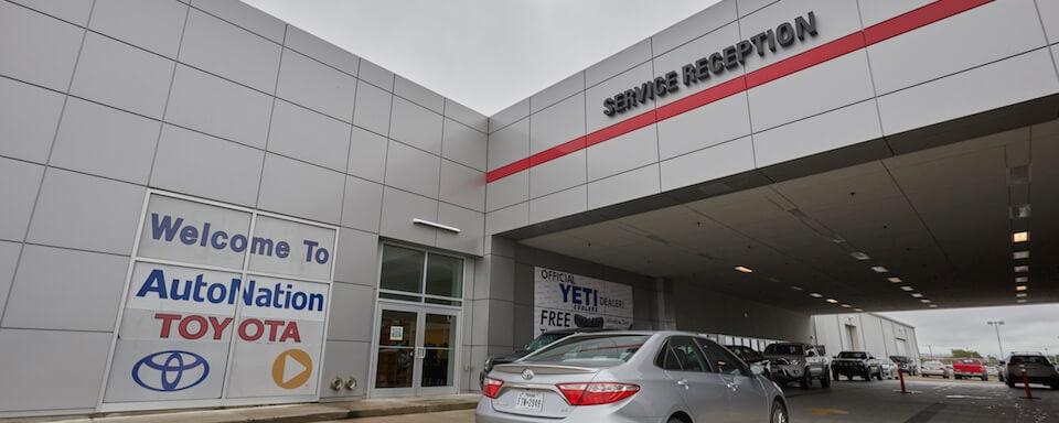 AutoNation Toyota Corpus Christi Service Center Amenities