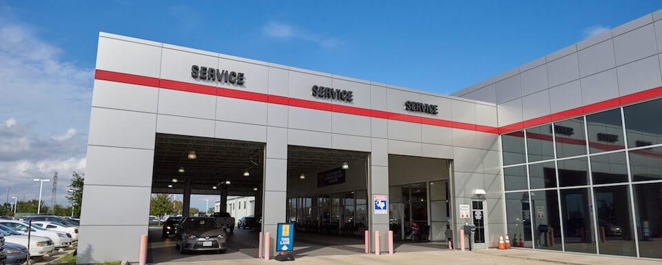 AutoNation Toyota Gulf Freeway Service Center