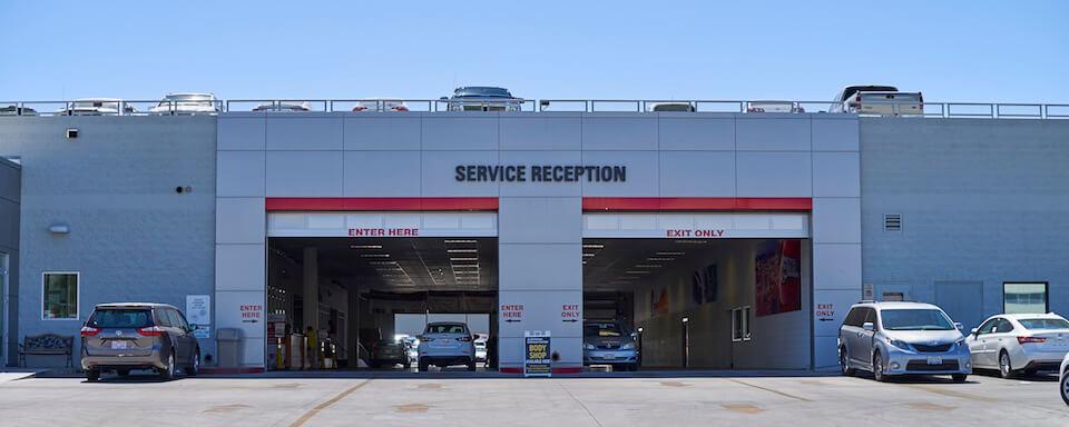 AutoNation Toyota Las Vegas Service Center Amenities
