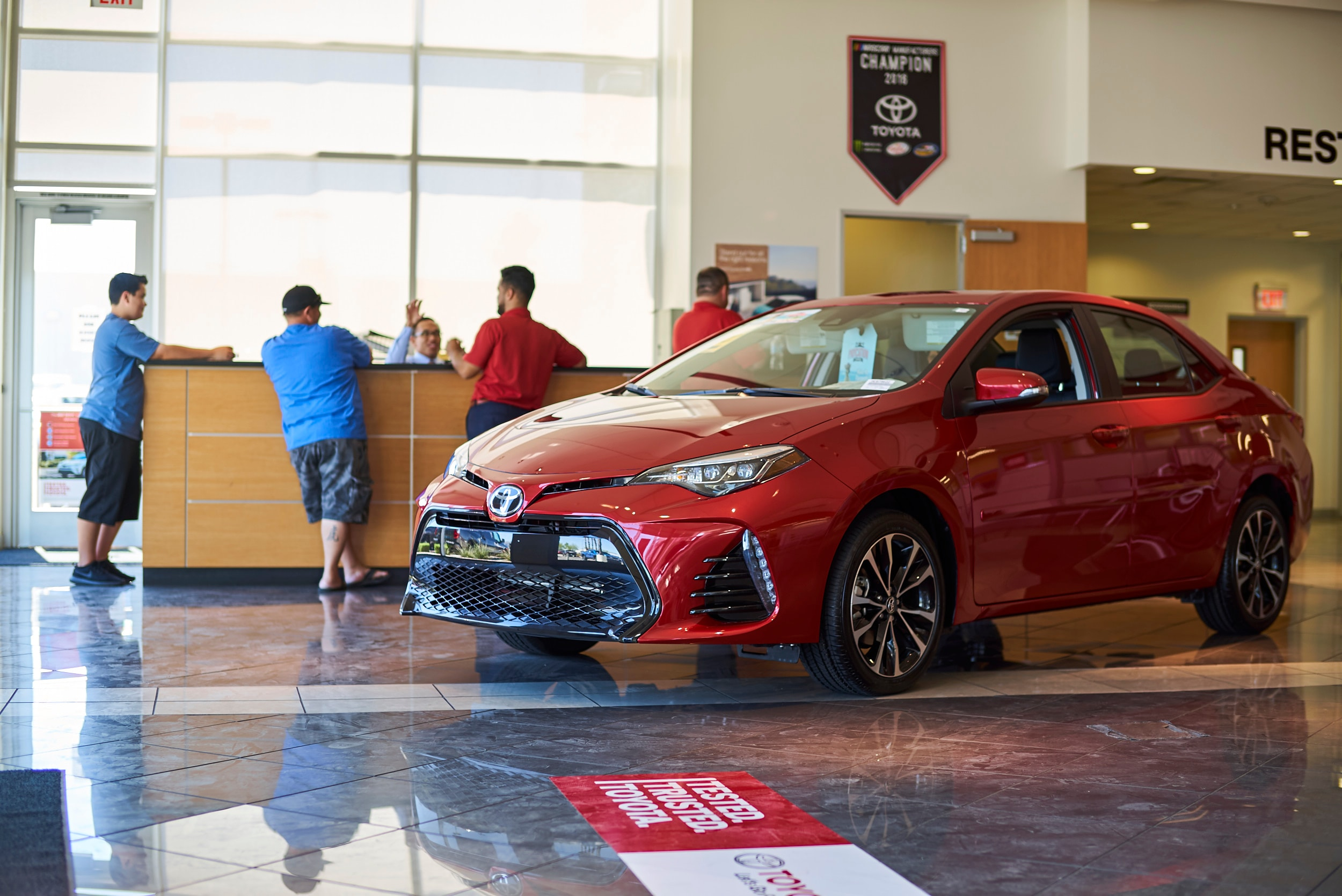 primarily engaged welcome dealer to tdm in inaugurated maintenance on toyota of is as the october first cavite sales dsc dasmari and choice vehicles