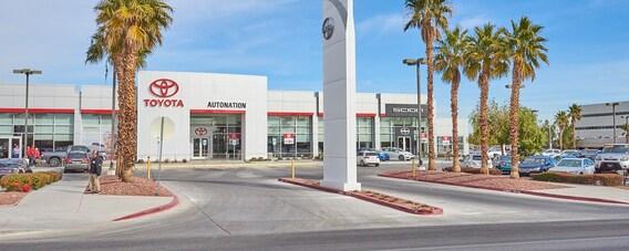Las Vegas Toyota >> Toyota Dealership In Las Vegas Nv Autonation Toyota Las Vegas