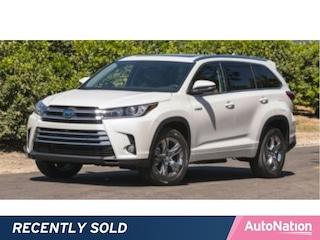 2018 Toyota Highlander Hybrid Limited V6 SUV