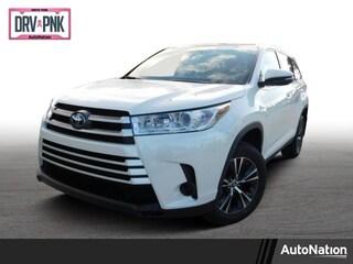 New 2019 Toyota Highlander Hybrid LE V6 SUV