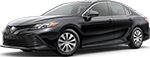 Midnight Black Metallic 2018 Toyota Camry L