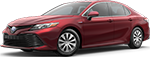 Ruby Flare Pearl 2018 Toyota Camry Hybrid LE