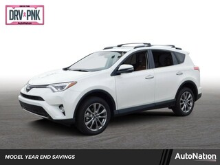 New 2018 Toyota RAV4 Limited SUV