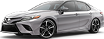 Celestial Silver Metallic 2018 Toyota Camry XSE V6