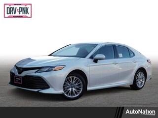 New 2019 Toyota Camry Hybrid XLE Sedan