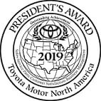 Toyota Presidents Award 2019
