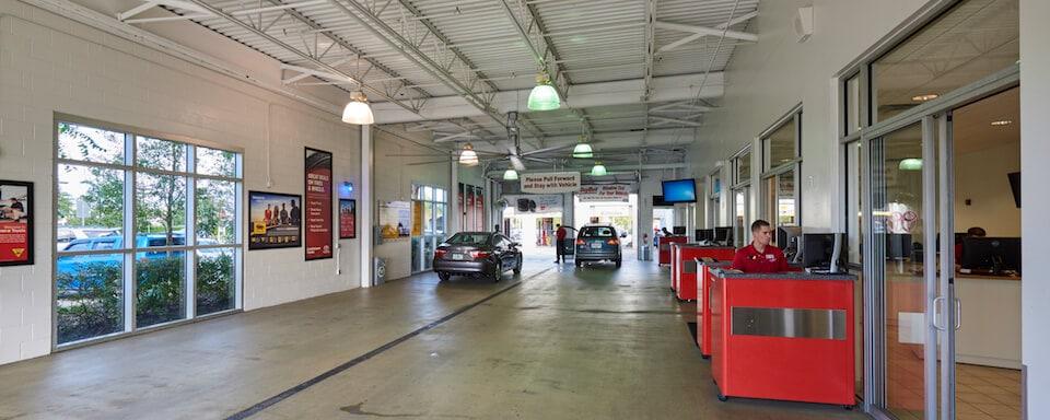 AutoNation Toyota Winter Park Service Center Amenities