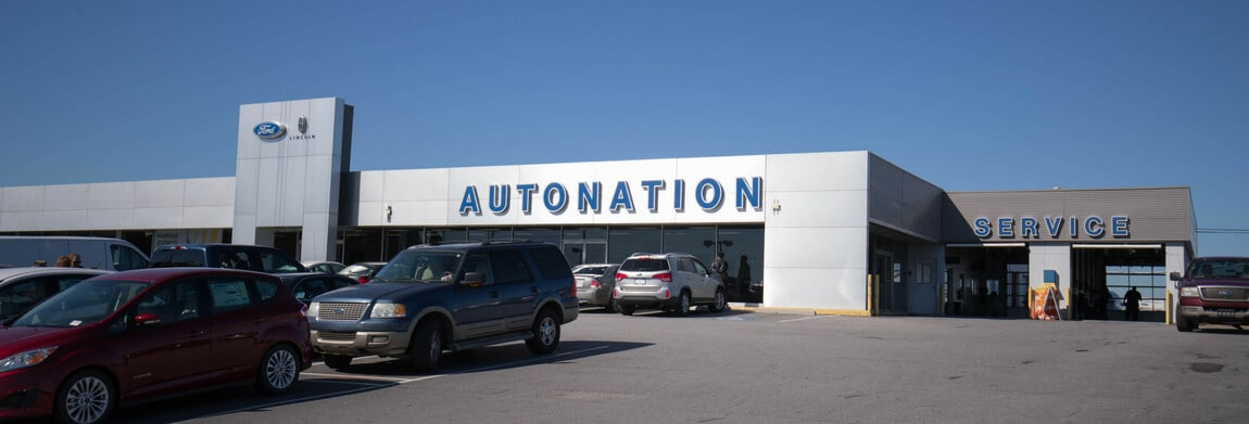Exterior view of AutoNation Ford Lincoln Union City