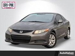 2012 Honda Civic Coupe LX Coupe