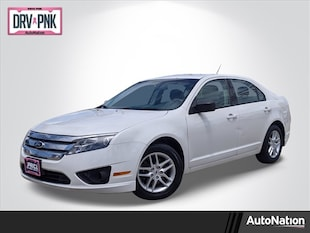 2012 Ford Fusion S 4dr Car