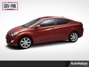 2012 Hyundai Elantra Limited 4dr Car