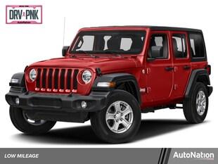 2020 Jeep Wrangler Unlimited Sahara Sport Utility
