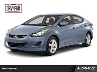 2013 Hyundai Elantra Limited 4dr Car