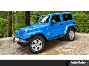 2014 Jeep Wrangler Sahara Sport Utility