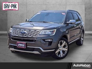 2018 Ford Explorer Platinum Sport Utility
