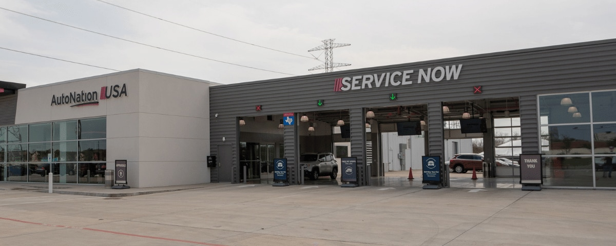 AutoNation USA Katy Service Center exterior