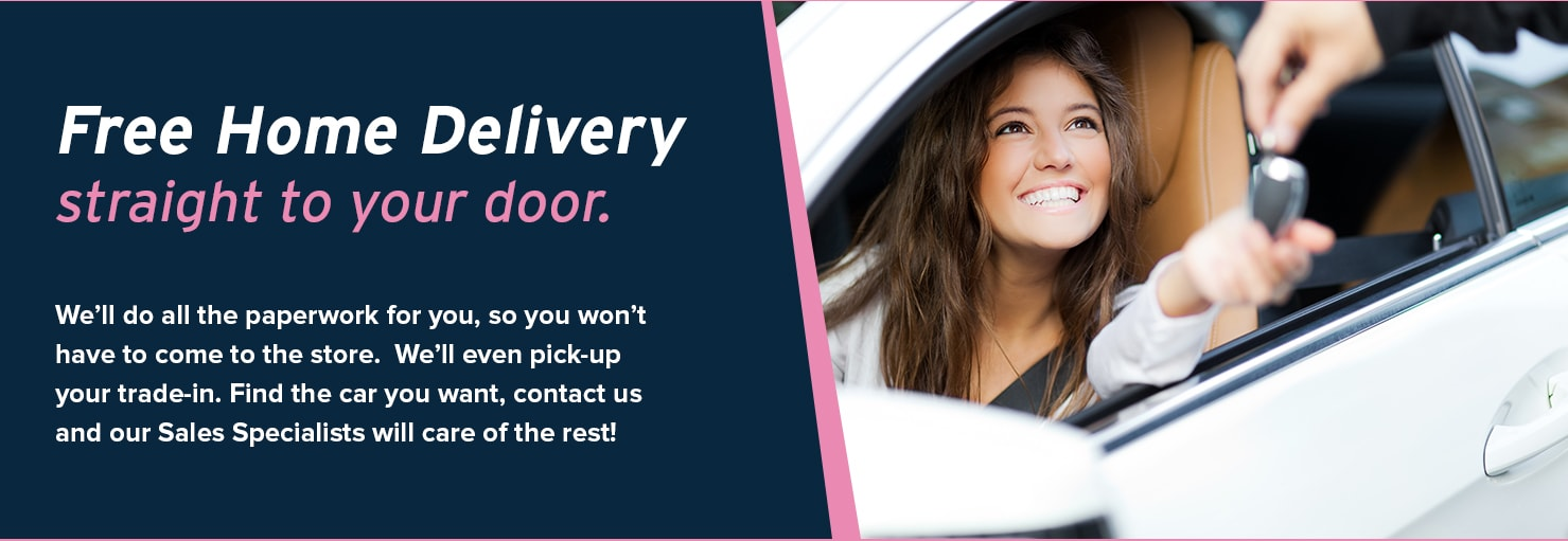Home Delivery in AutoNation USA Katy
